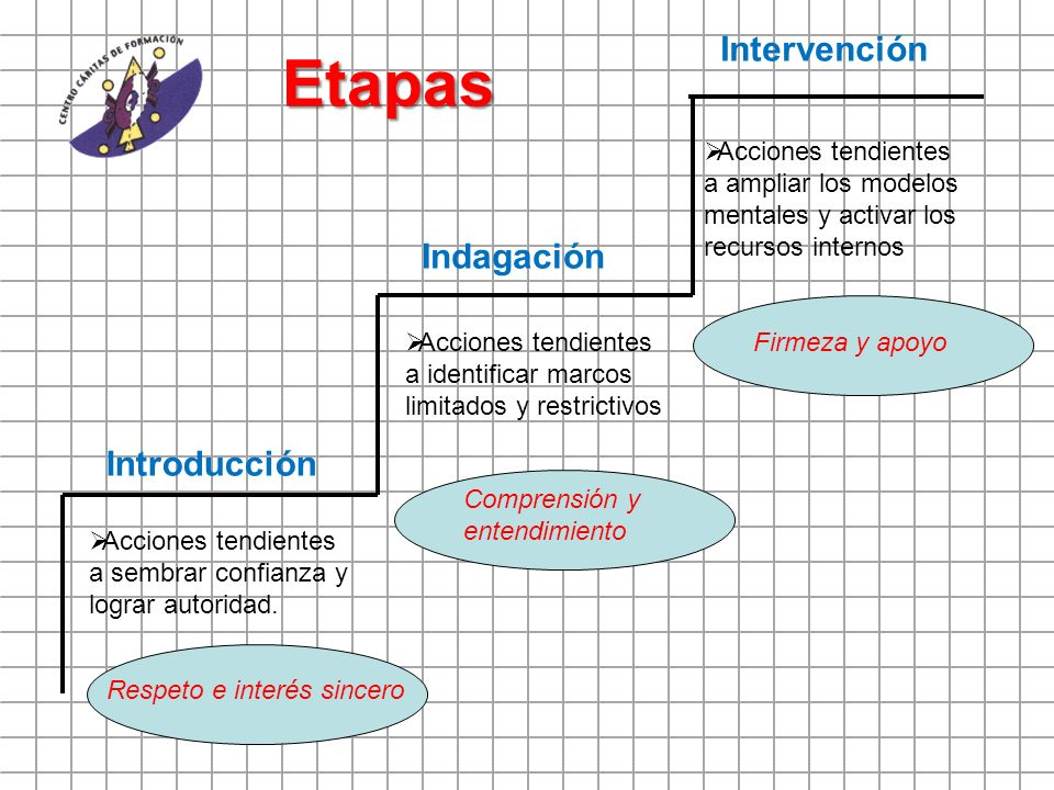 Etapas Intervención Indagación Introducción