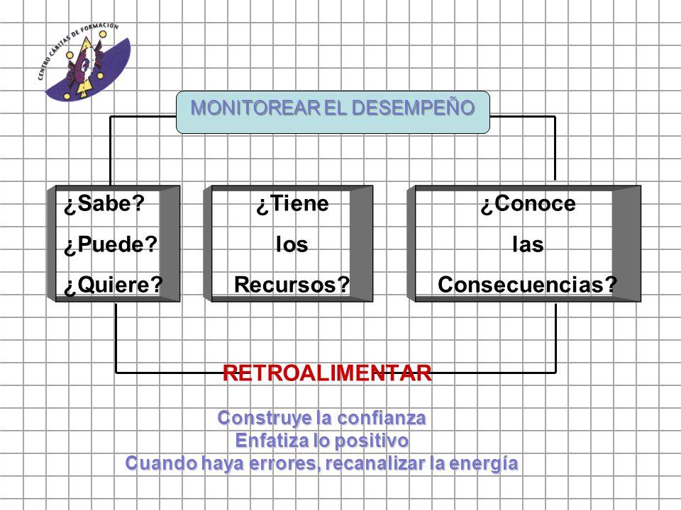 MONITOREAR EL DESEMPEÑO