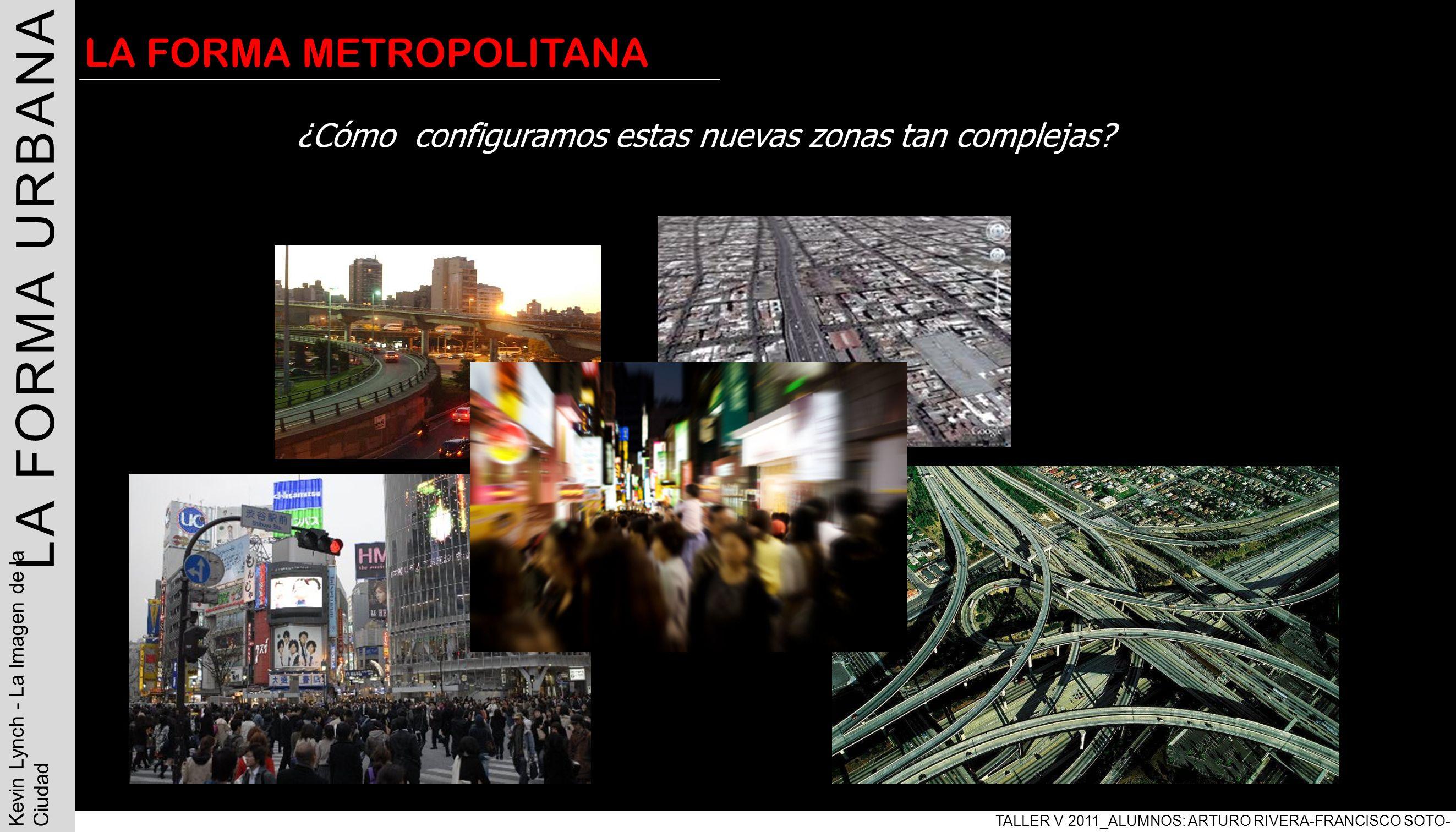 | LA FORMA URBANA LA FORMA METROPOLITANA