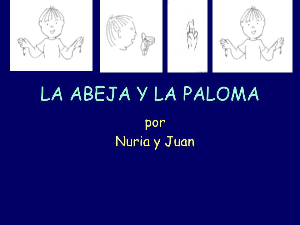 LA ABEJA Y LA PALOMA por Nuria y Juan