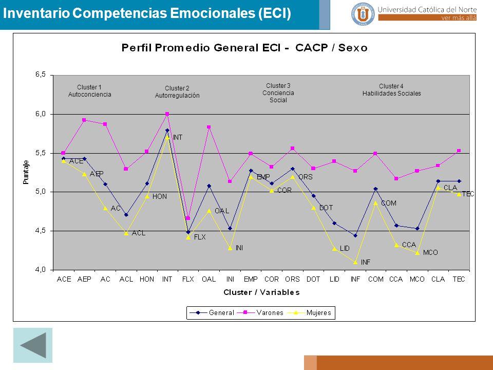 Inventario Competencias Emocionales (ECI)
