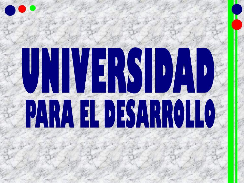 UNIVERSIDAD PARA EL DESARROLLO