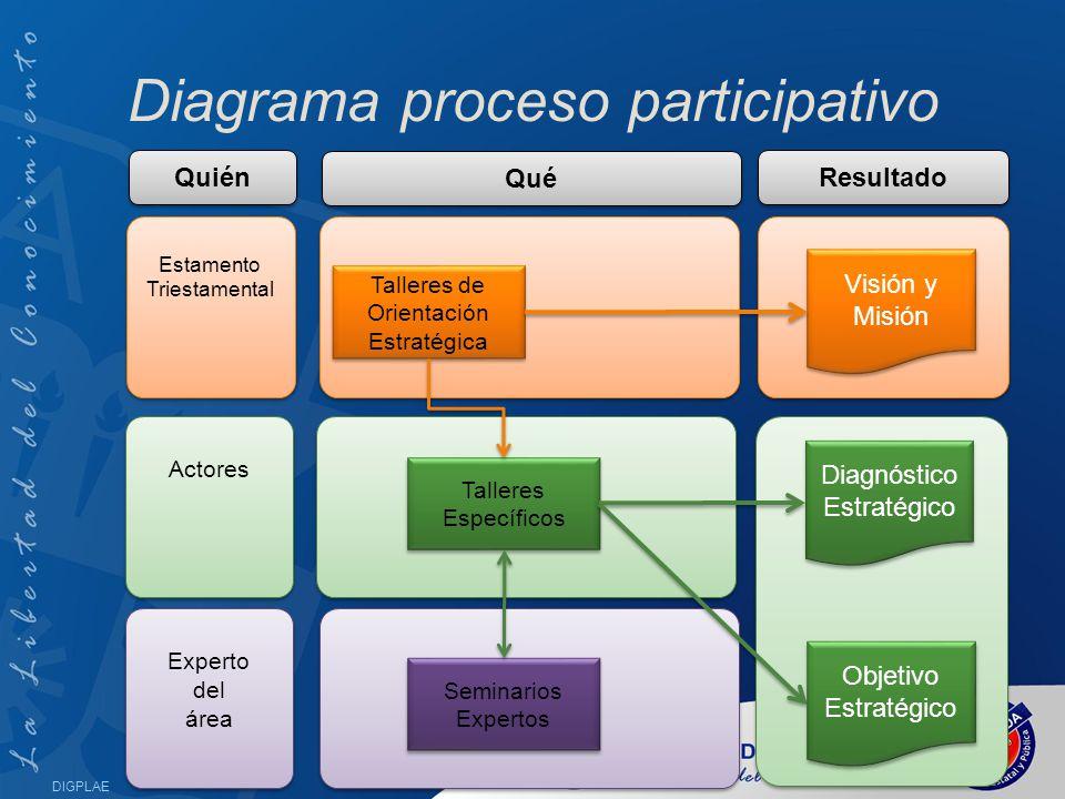 Diagrama proceso participativo
