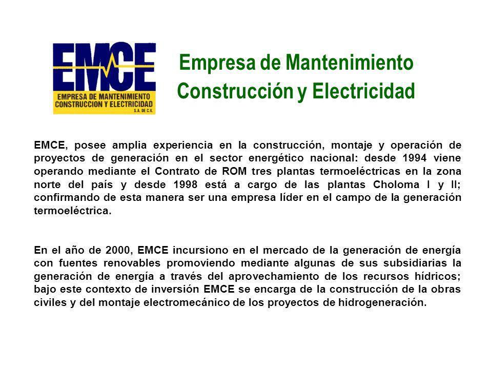 Empresa de Mantenimiento Construcción y Electricidad