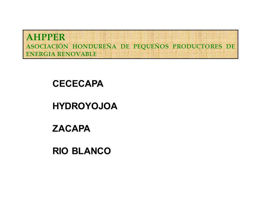 AHPPER CECECAPA HYDROYOJOA ZACAPA RIO BLANCO
