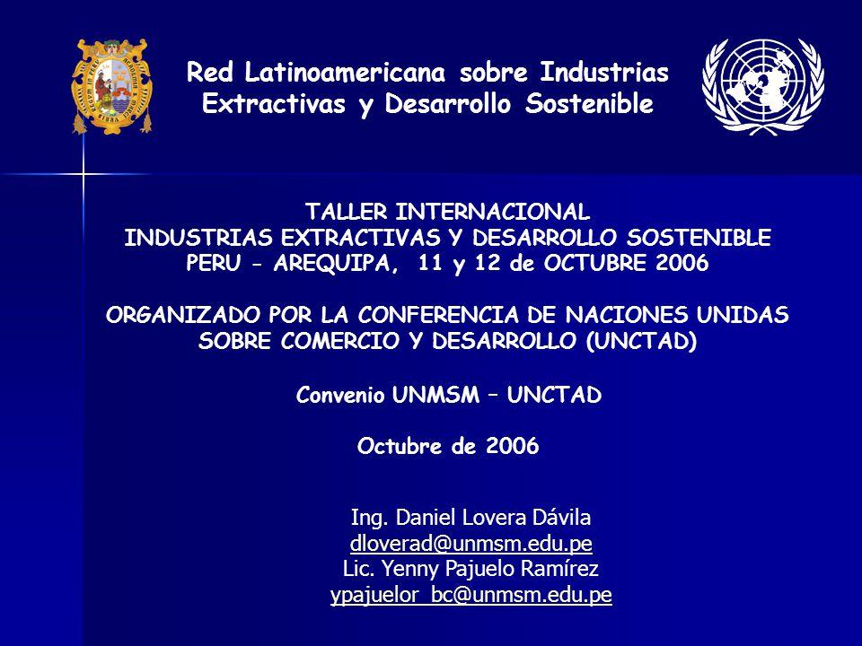 Convenio UNMSM – UNCTAD