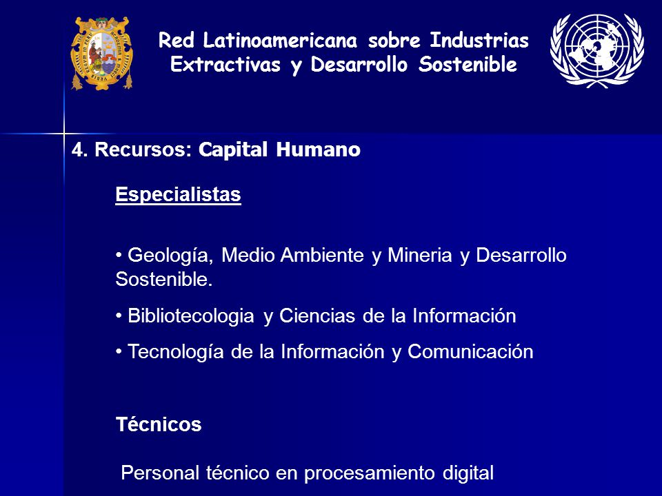 Red Latinoamericana sobre Industrias Extractivas y Desarrollo Sostenible