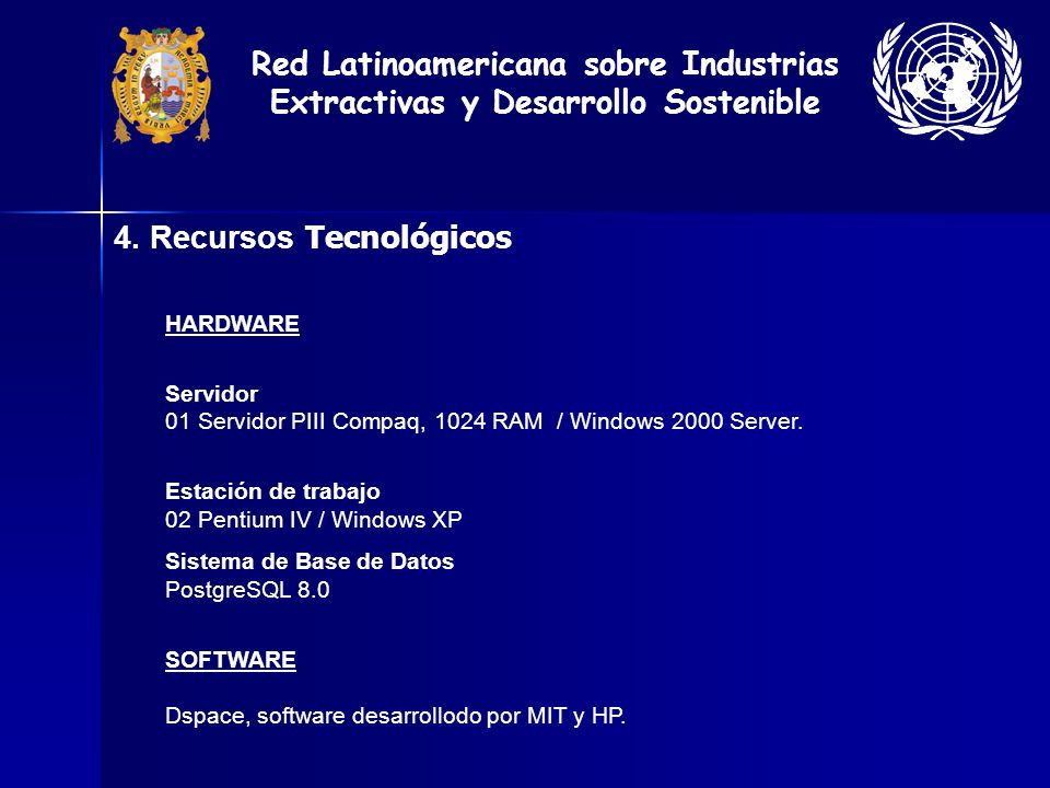4. Recursos Tecnológicos