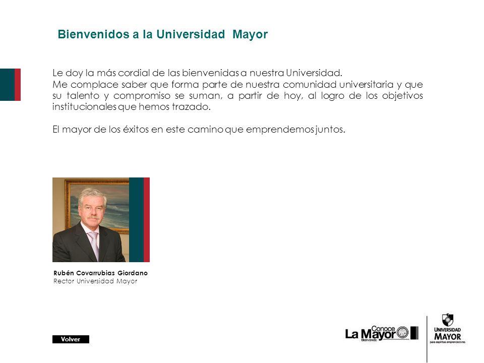 Bienvenidos a la Universidad Mayor