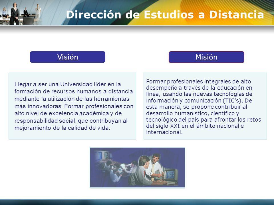 Dirección de Estudios a Distancia