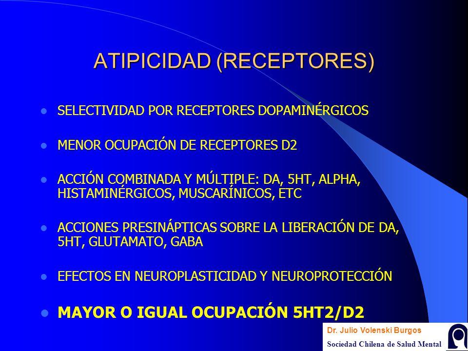 ATIPICIDAD (RECEPTORES)