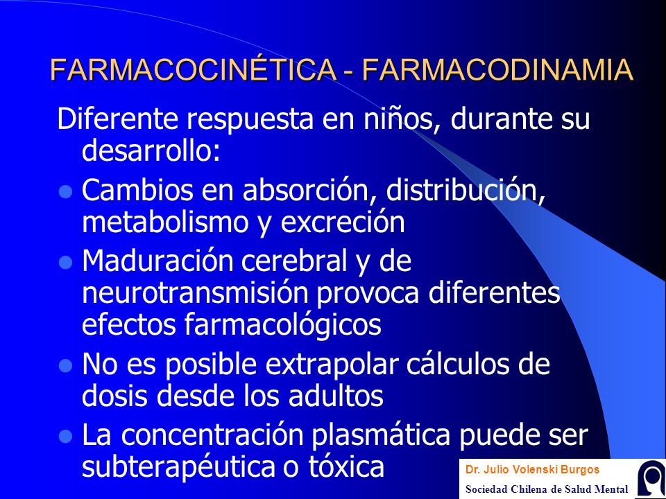FARMACOCINÉTICA - FARMACODINAMIA