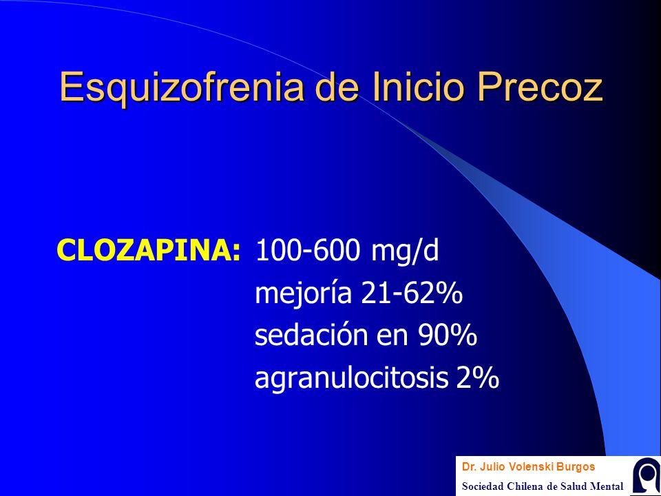 Esquizofrenia de Inicio Precoz