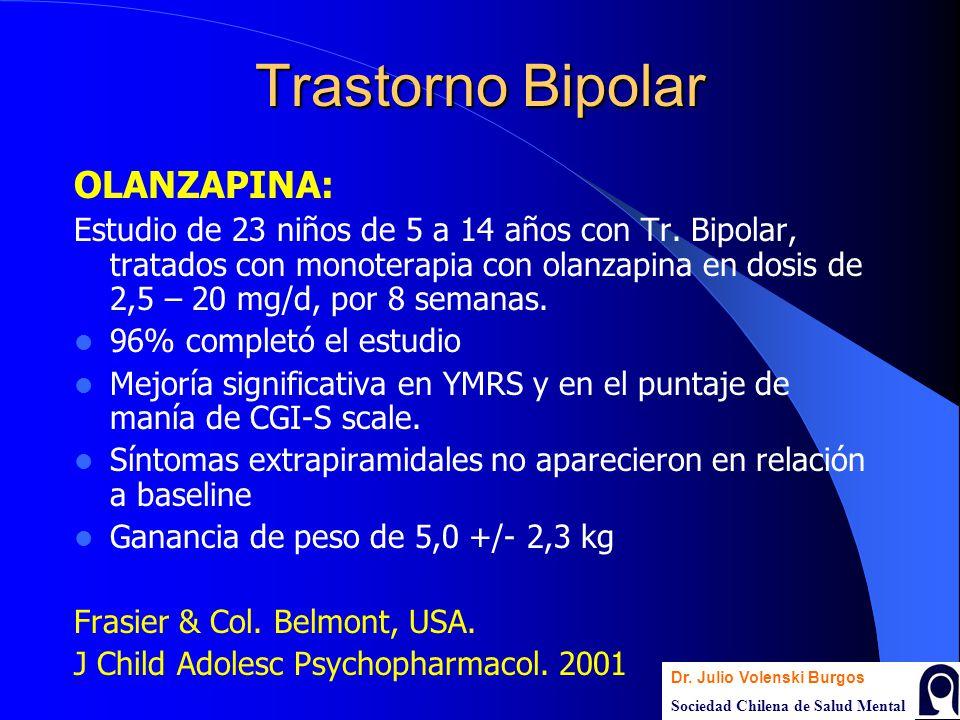 Trastorno Bipolar OLANZAPINA: