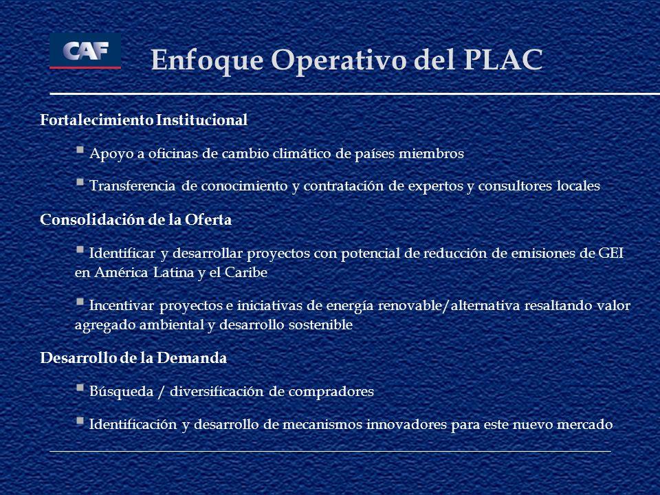 Enfoque Operativo del PLAC