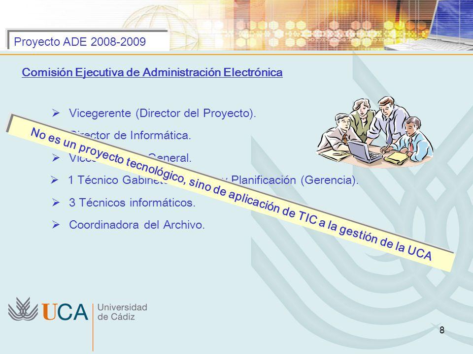 1 Técnico Gabinete Estudios y Planificación (Gerencia).
