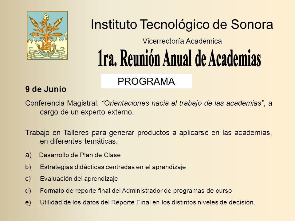1ra. Reunión Anual de Academias