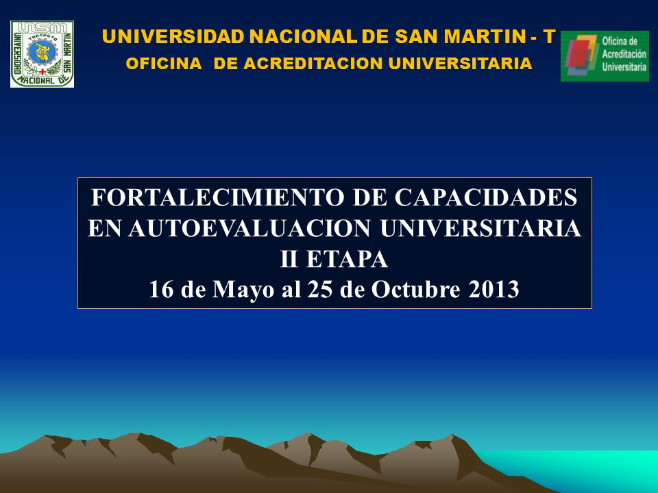 UNIVERSIDAD NACIONAL DE SAN MARTIN - T