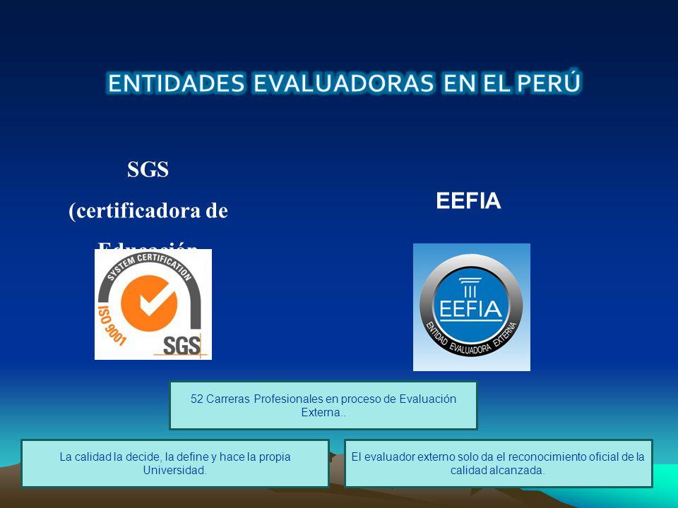 SGS (certificadora de Educación S.A.C.)