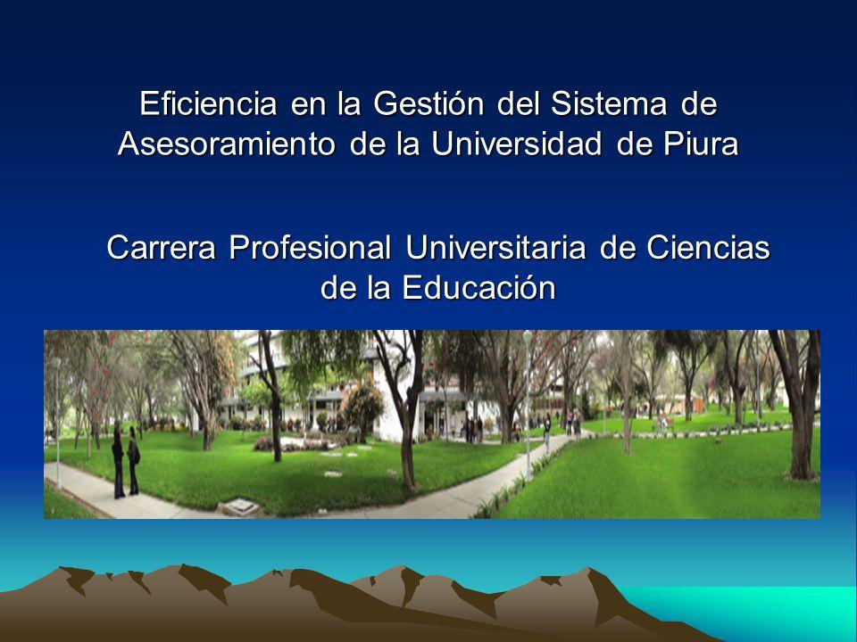 Carrera Profesional Universitaria de Ciencias de la Educación