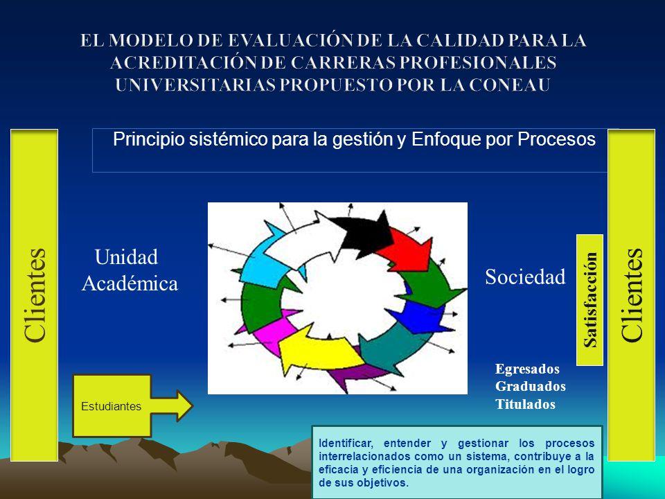 Principio sistémico para la gestión y Enfoque por Procesos