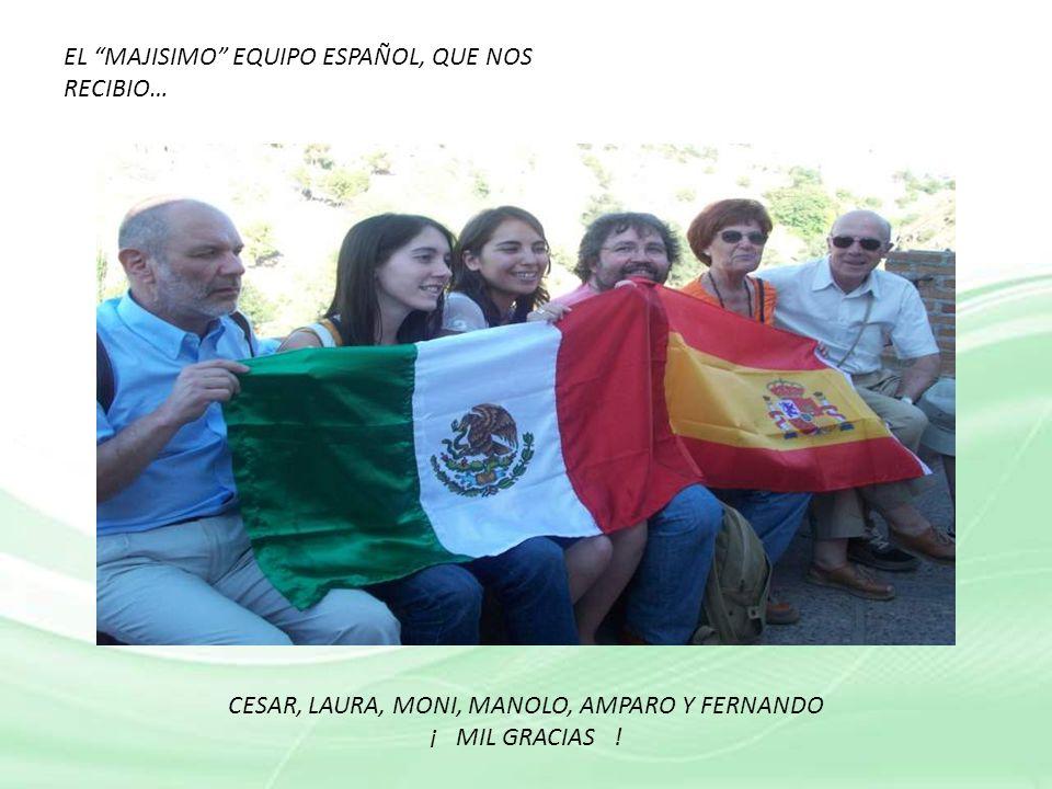 CESAR, LAURA, MONI, MANOLO, AMPARO Y FERNANDO