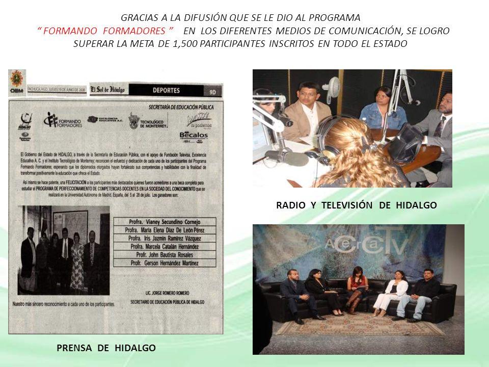 RADIO Y TELEVISIÓN DE HIDALGO