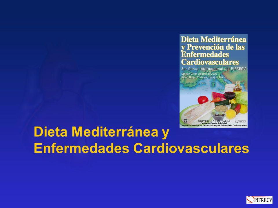 Dieta Mediterránea y Enfermedades Cardiovasculares