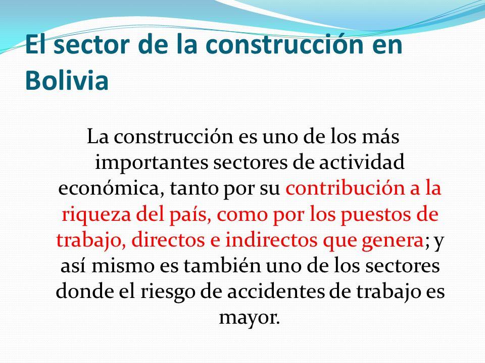 El sector de la construcción en Bolivia