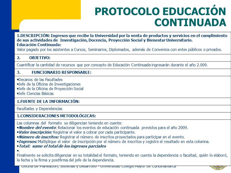 PROTOCOLO EDUCACIÓN CONTINUADA