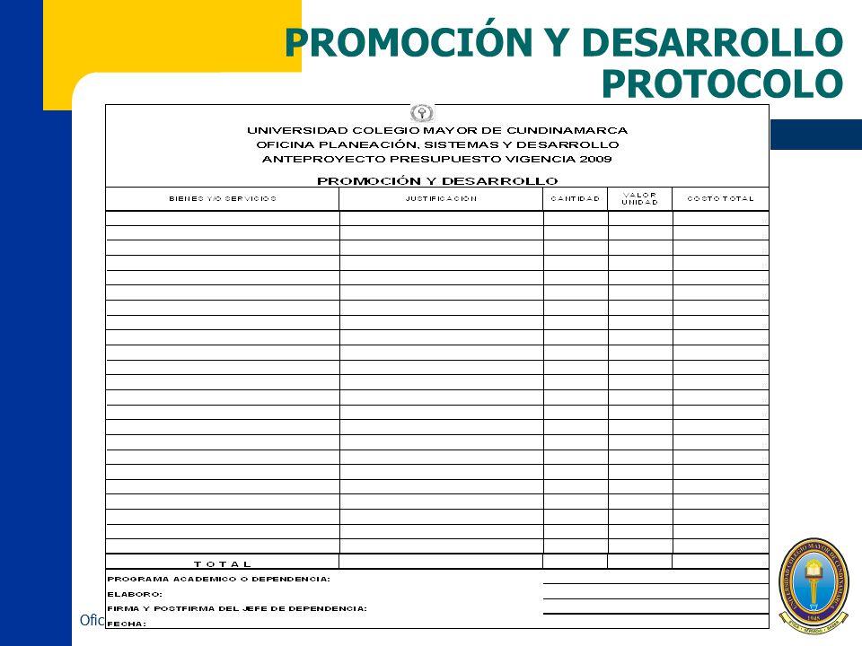 PROMOCIÓN Y DESARROLLO PROTOCOLO