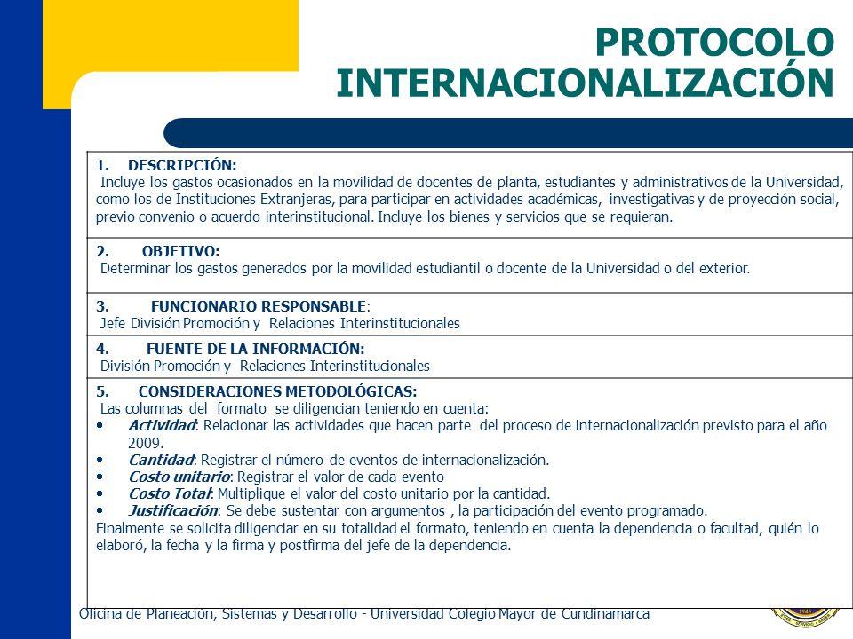 PROTOCOLO INTERNACIONALIZACIÓN