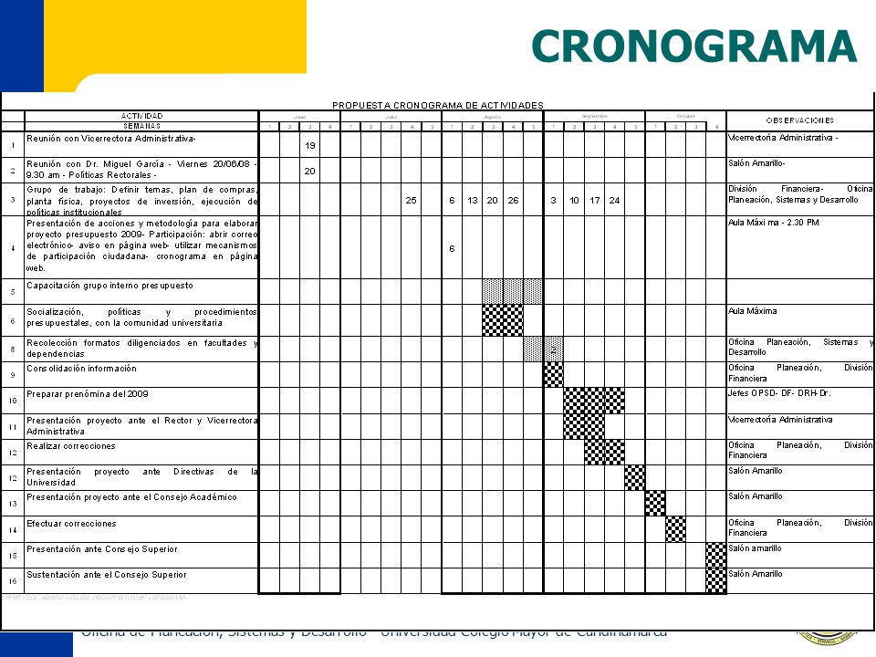 CRONOGRAMA.