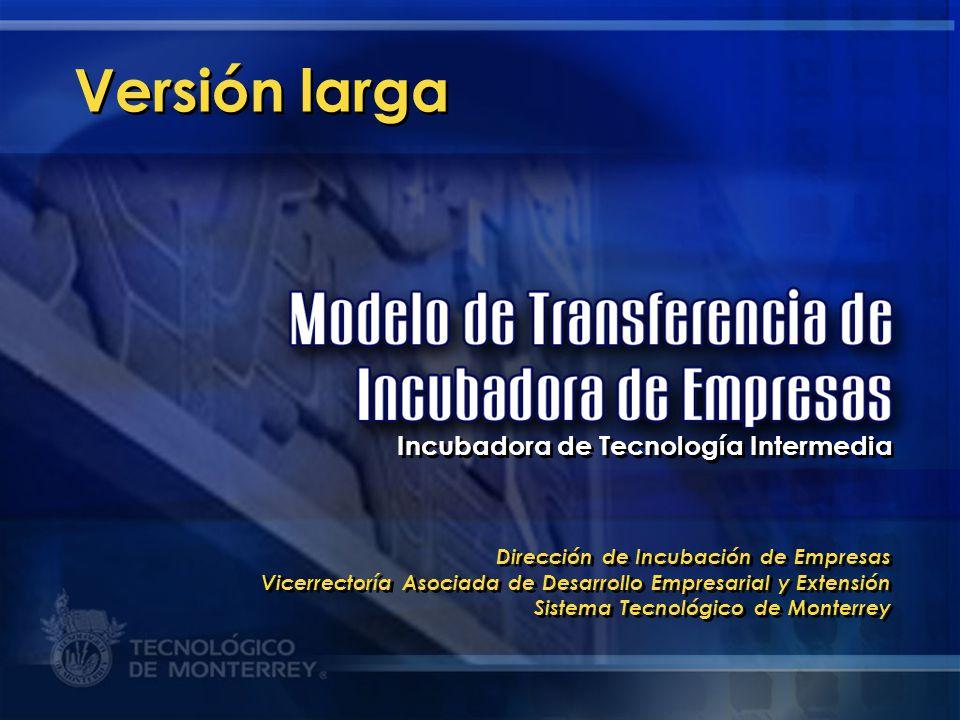 Versión larga Incubadora de Tecnología Intermedia