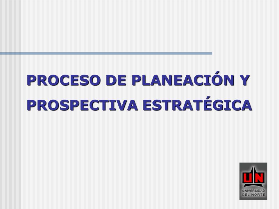 PROCESO DE PLANEACIÓN Y