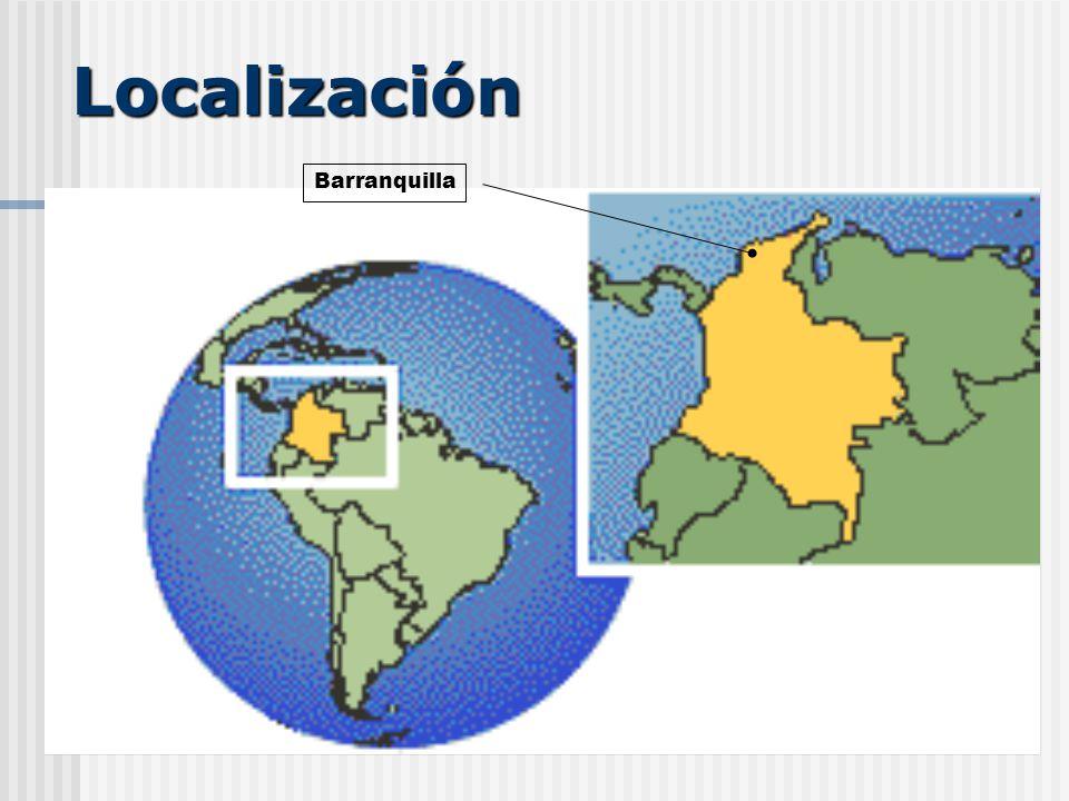 Localización Barranquilla
