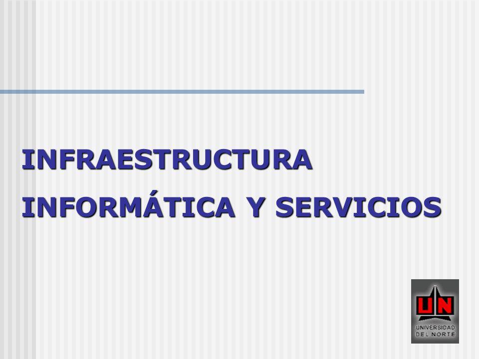INFRAESTRUCTURA INFORMÁTICA Y SERVICIOS