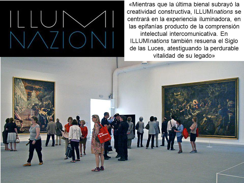 «Mientras que la última bienal subrayó la creatividad constructiva, ILLUMInations se centrará en la experiencia iluminadora, en las epifanías producto de la comprensión intelectual intercomunicativa.