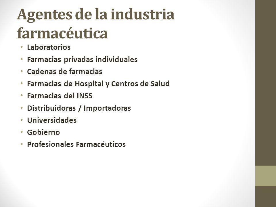 Agentes de la industria farmacéutica