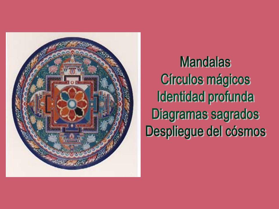Mandalas Círculos mágicos Identidad profunda Diagramas sagrados Despliegue del cósmos