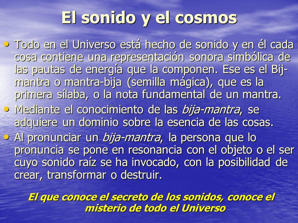 El sonido y el cosmos