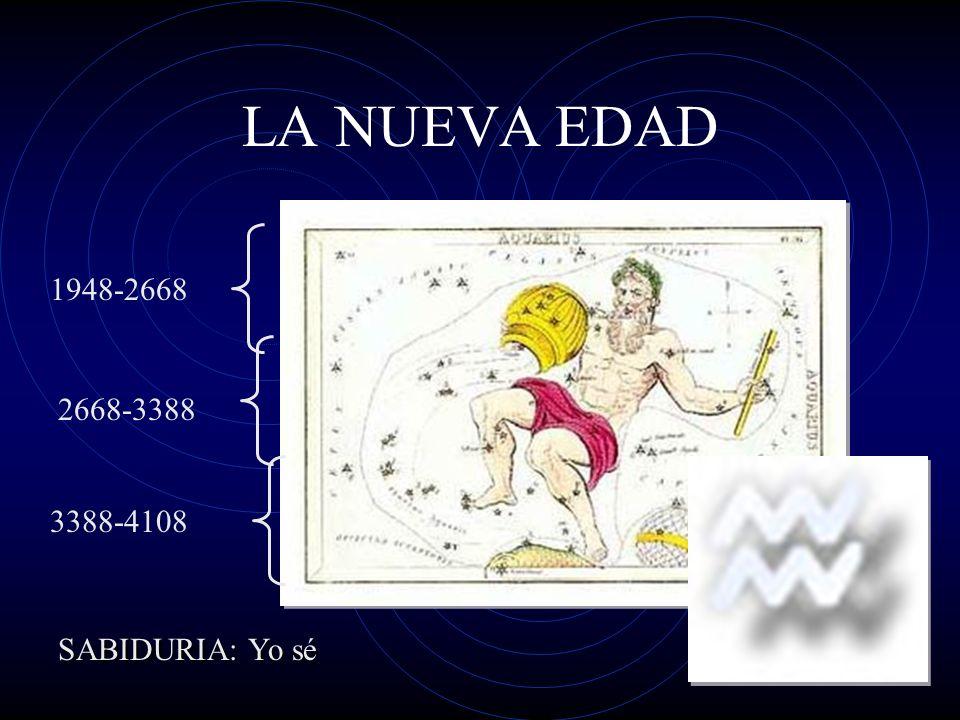LA NUEVA EDAD 1948-2668 2668-3388 3388-4108 SABIDURIA: Yo sé