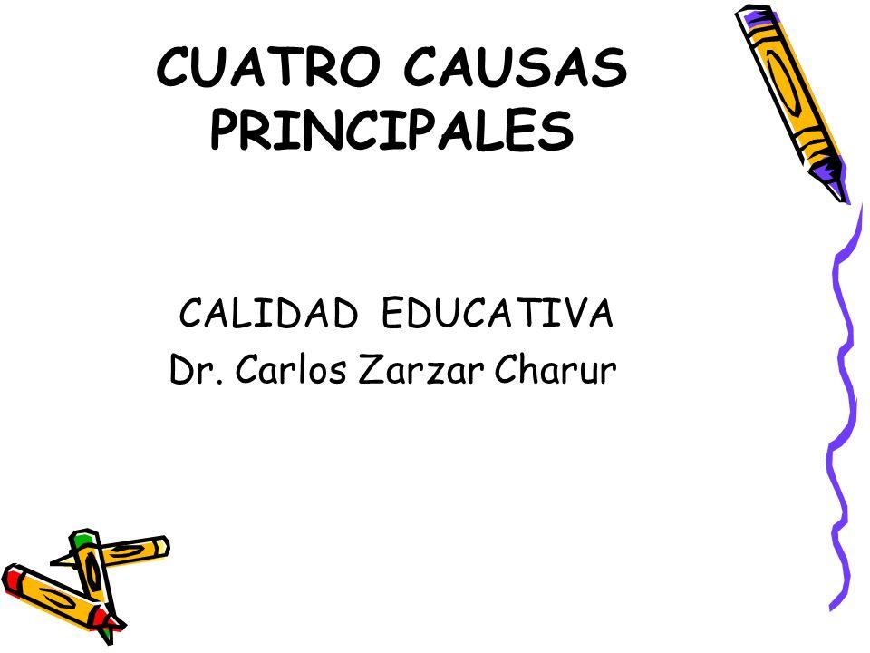 CUATRO CAUSAS PRINCIPALES