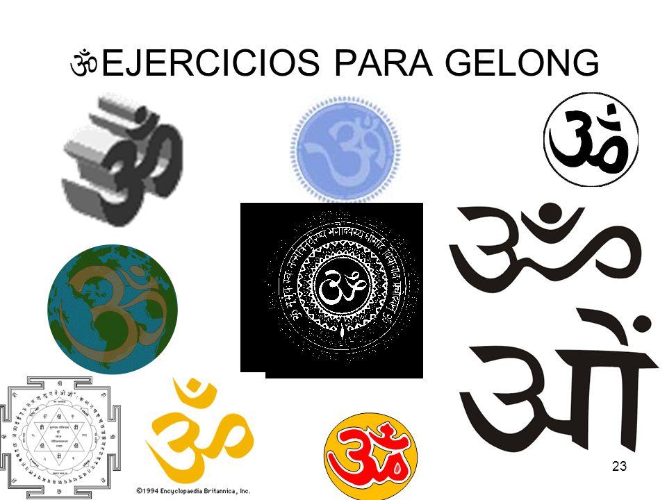EJERCICIOS PARA GELONG