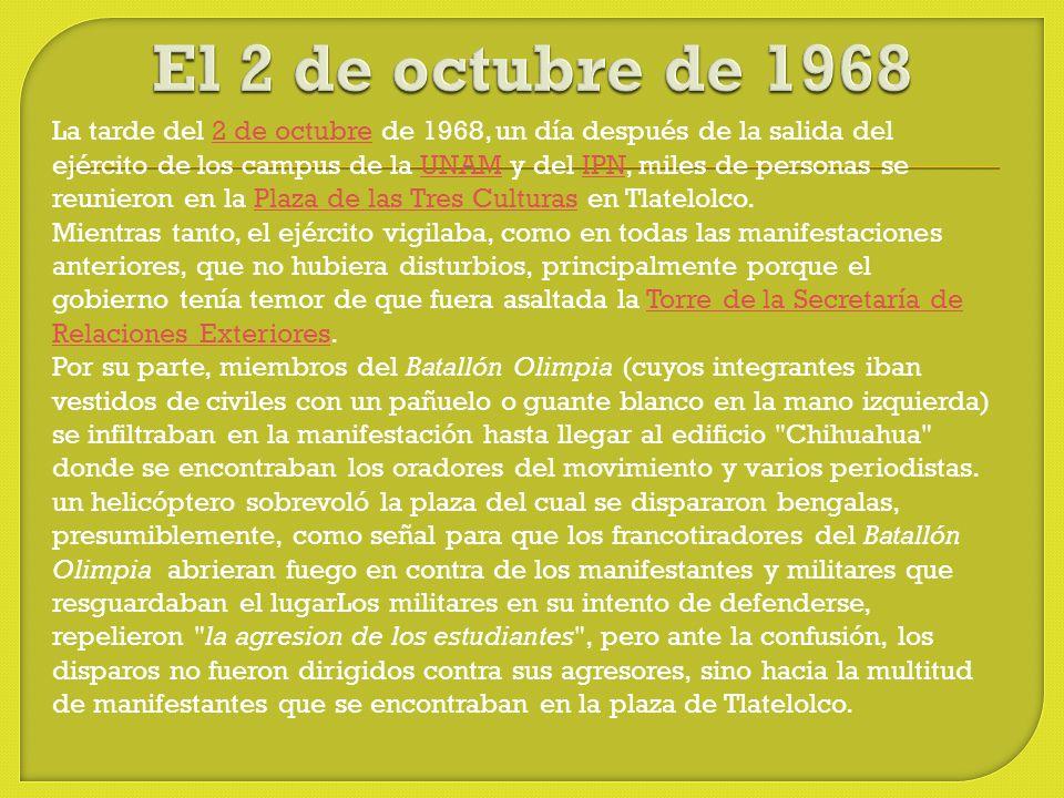 El 2 de octubre de 1968