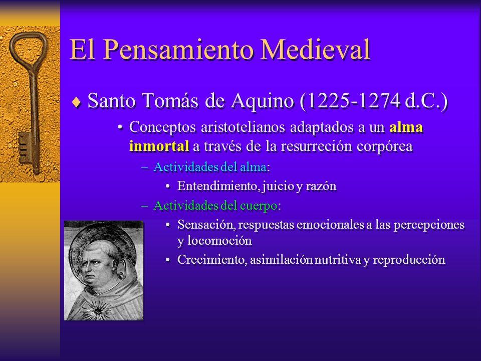 El Pensamiento Medieval
