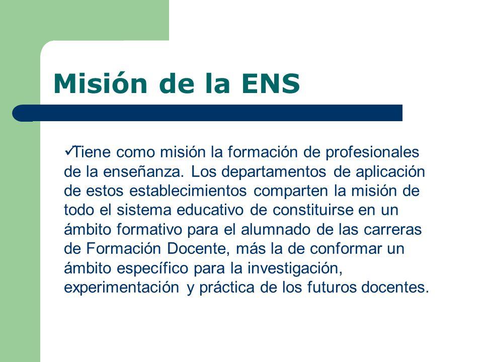 Misión de la ENS
