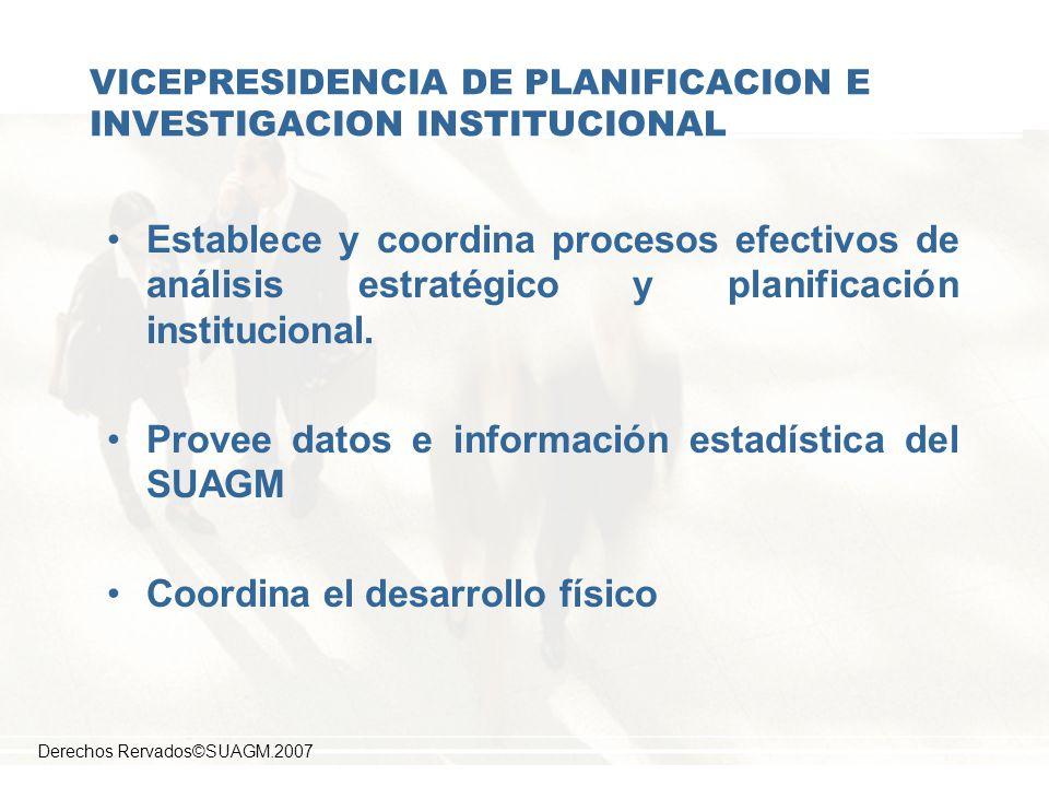 VICEPRESIDENCIA DE PLANIFICACION E INVESTIGACION INSTITUCIONAL