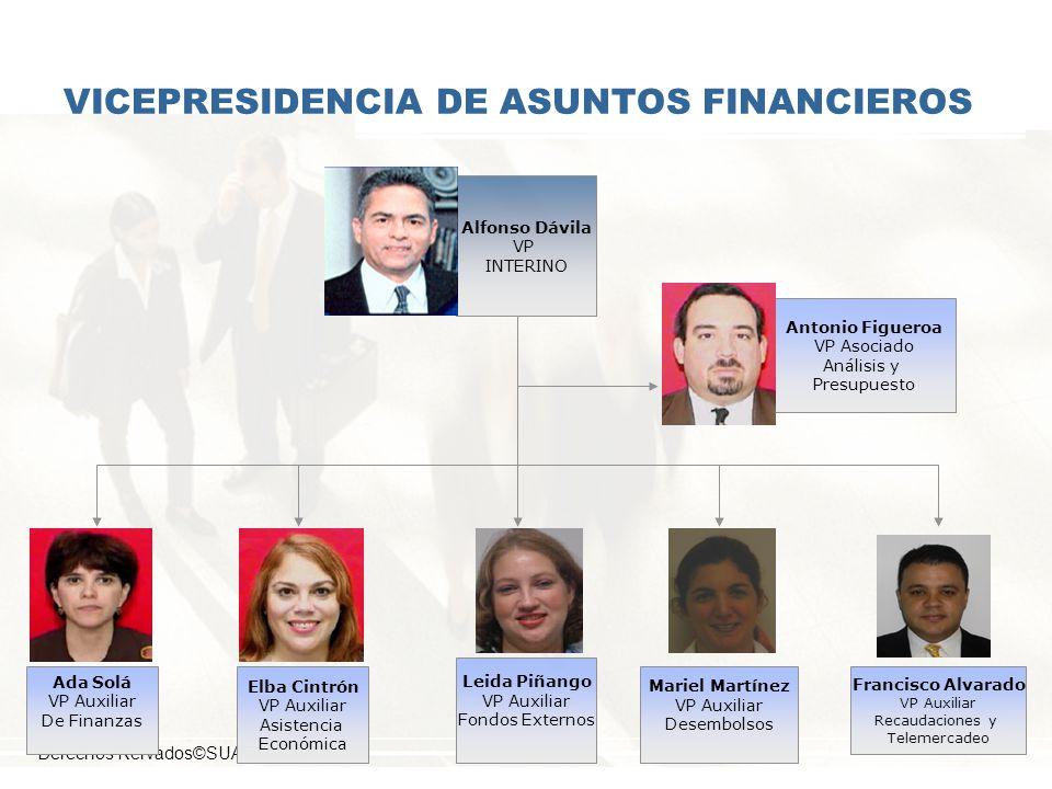 VICEPRESIDENCIA DE ASUNTOS FINANCIEROS