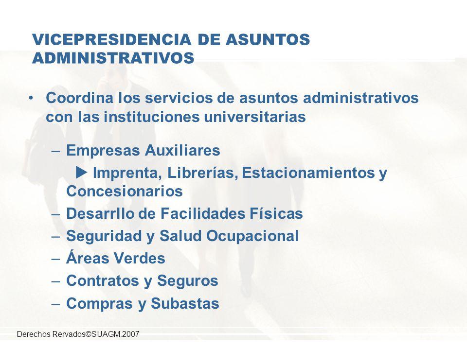 VICEPRESIDENCIA DE ASUNTOS ADMINISTRATIVOS